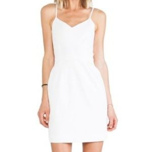 Joie Orchard Dress porcelain textured minidress